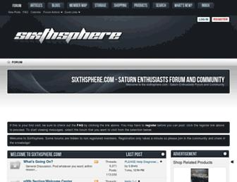 sixthsphere.com screenshot