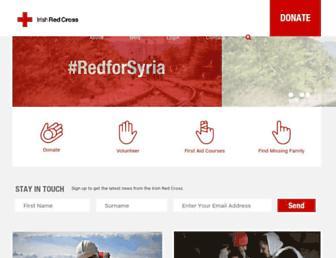 redcross.ie screenshot