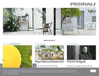 Thumbshot of Pedrali.it