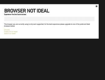 oneclub.org screenshot