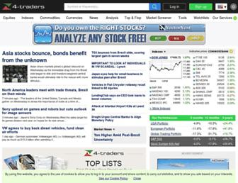 4-traders.com screenshot