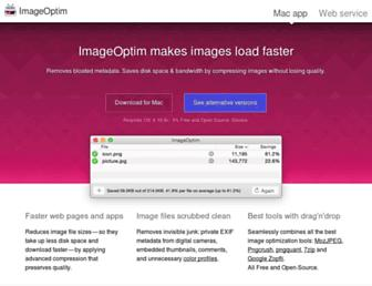 imageoptim.com screenshot