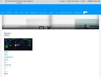 thurrott.com screenshot