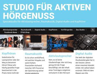 christophzingel.de screenshot
