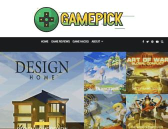 gamepick.org screenshot