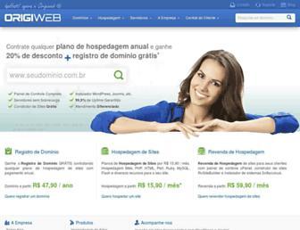 origiweb.com.br screenshot