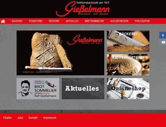 giesselmanns.de screenshot