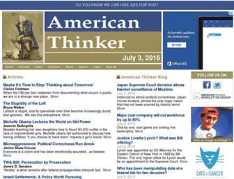 Thumbshot of Americanthinker.com
