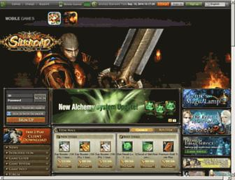 Main page screenshot of silkroadonline.net