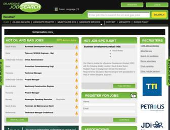 Thumbshot of Oilandgasjobsearch.com
