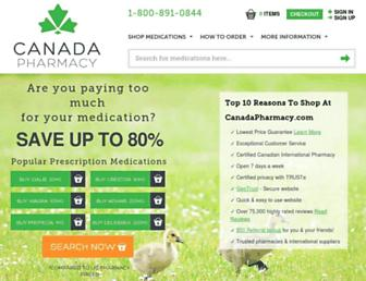 Thumbshot of Canadapharmacy.com