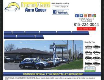 illinoisvalleyautogroup.com screenshot