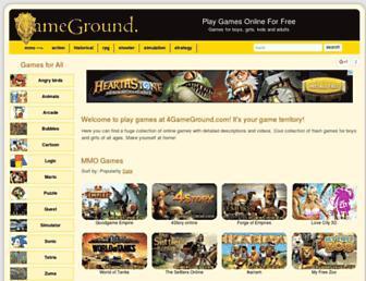 4gameground.com screenshot