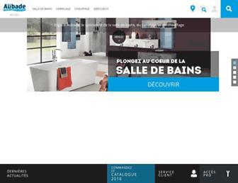 espace-aubade.fr screenshot