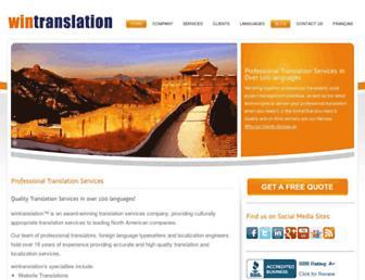wintranslation.com screenshot