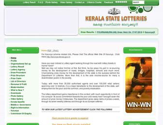 Thumbshot of Keralalotteries.com