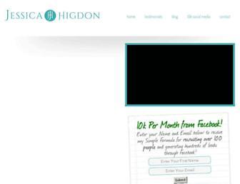 Thumbshot of Jessicahigdon.com
