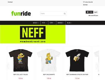 funride.ro screenshot