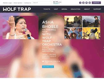 Thumbshot of Wolftrap.org