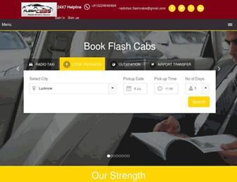 flashcabs.com screenshot