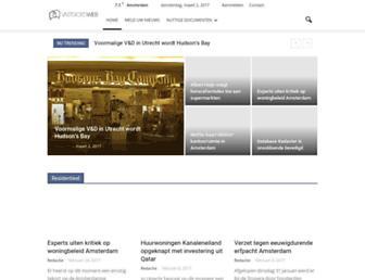 Main page screenshot of vromtotaal.nl