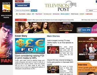 Thumbshot of Televisionpost.com