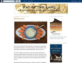 fat-of-the-land.blogspot.com screenshot