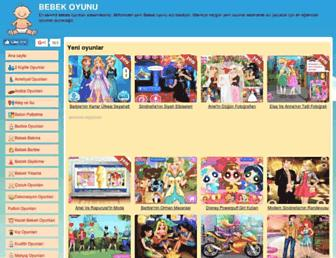 bebekoyunu.com.tr screenshot