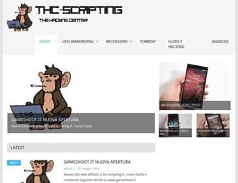 thc-scripting.it screenshot