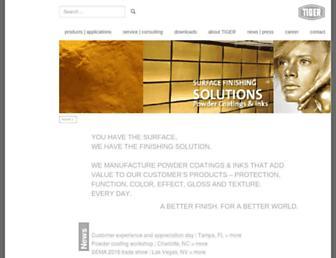 tiger-coatings.us screenshot