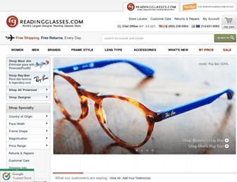 Thumbshot of Readingglasses.com