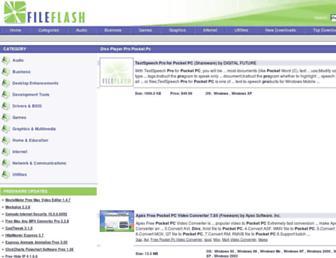 divx-player-pro-pocket-pc.fileflash.com screenshot