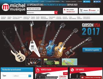 Thumbshot of Michelmusique.fr