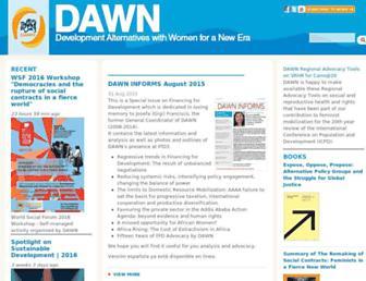 dawnnet.org screenshot