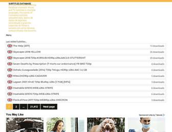 megasubtitles.com screenshot