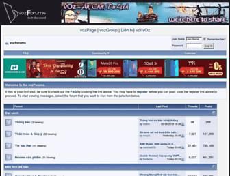 forums.voz.vn screenshot