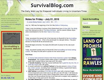 Thumbshot of Survivalblog.com