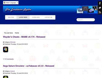emulationrealm.net screenshot