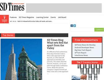 sdtimes.com screenshot