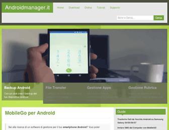androidmanager.it screenshot