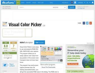 visual-color-picker.en.softonic.com screenshot