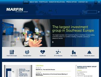 marfininvestmentgroup.com screenshot