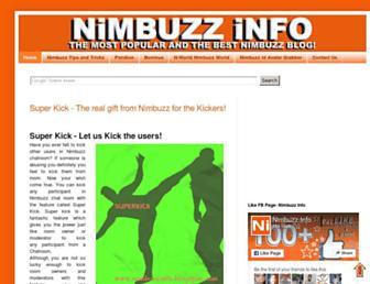 nimbuzzinfo.blogspot.com screenshot