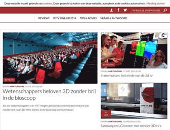 3dtvmagazine.nl screenshot
