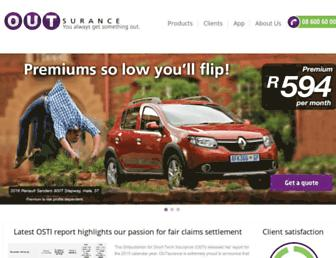 Thumbshot of Outsurance.co.za
