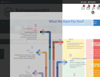 thecompaniesact2013.com screenshot