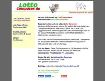 Weefs Lottosysteme