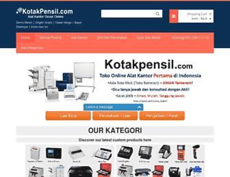 kotakpensil.com screenshot