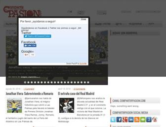 compartirpasion.com screenshot