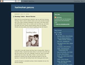 harimohanparuvu.blogspot.com screenshot